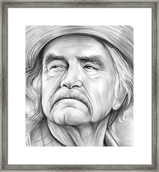Will Geer Framed Print