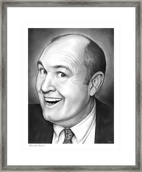 Willard Scott Framed Print