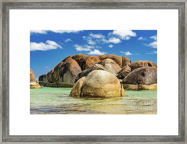 William Bay Framed Print