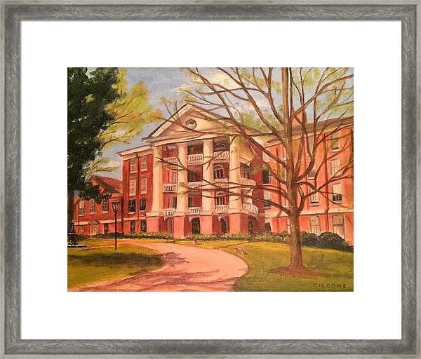 William Peace University Framed Print