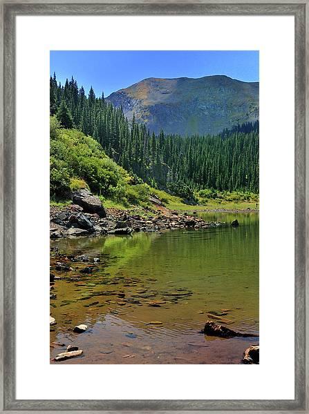 Williams Lake Framed Print
