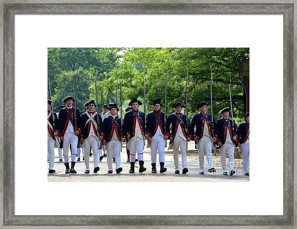 Williamsburg Framed Print