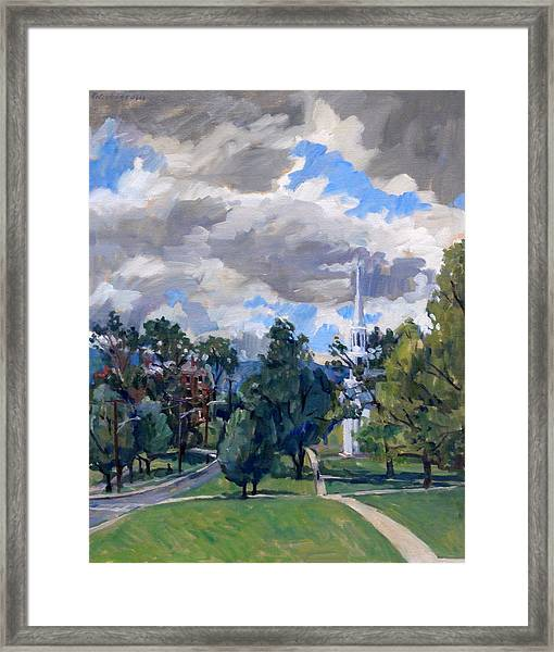 Williamstown Cloudy Framed Print