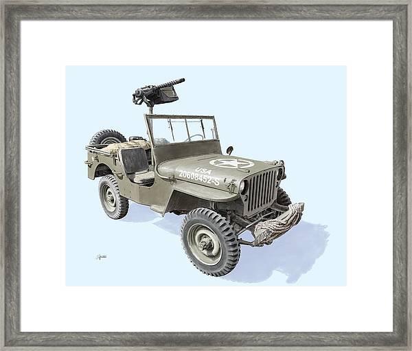 Willy Framed Print