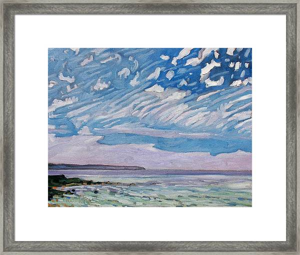 Wimpy Cold Front Framed Print