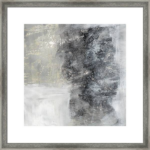 Wind In My Sails- Abstract Art Framed Print
