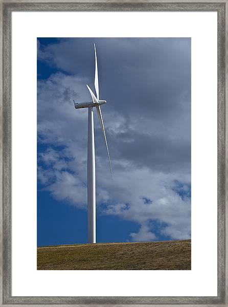 Wind Power 11 Framed Print