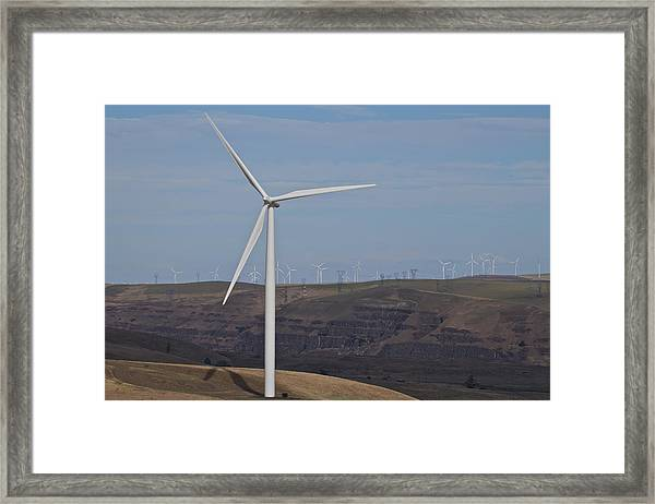Wind Power 12 Framed Print