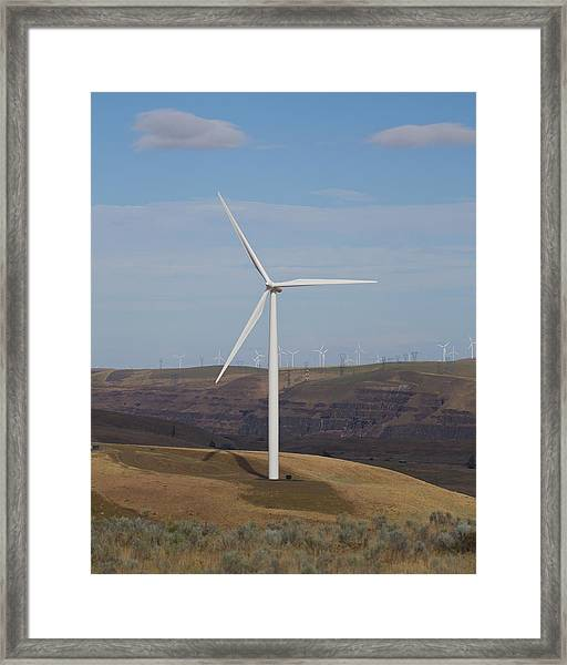 Wind Power 13 Framed Print