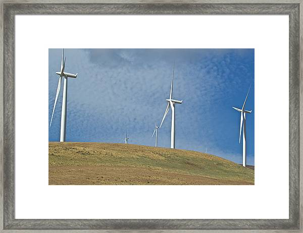 Wind Power 5 Framed Print