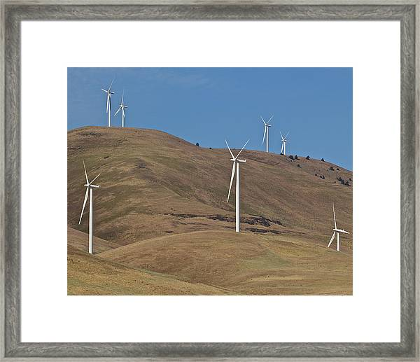 Wind Power 6 Framed Print