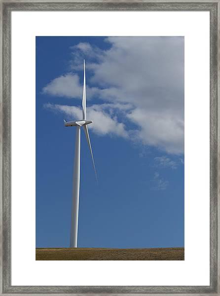 Wind Power 8 Framed Print
