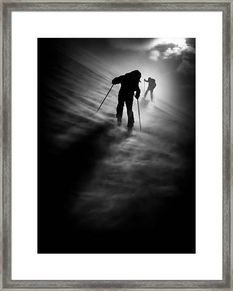 Wind Resistance Framed Print
