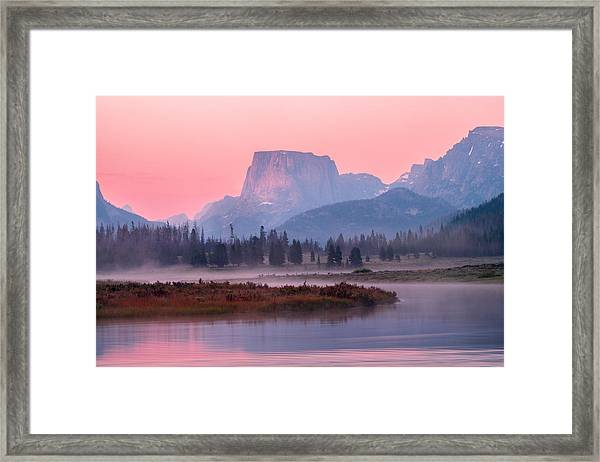 Wind River Framed Print