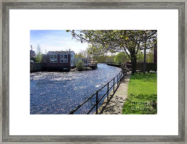 Winding River Framed Print