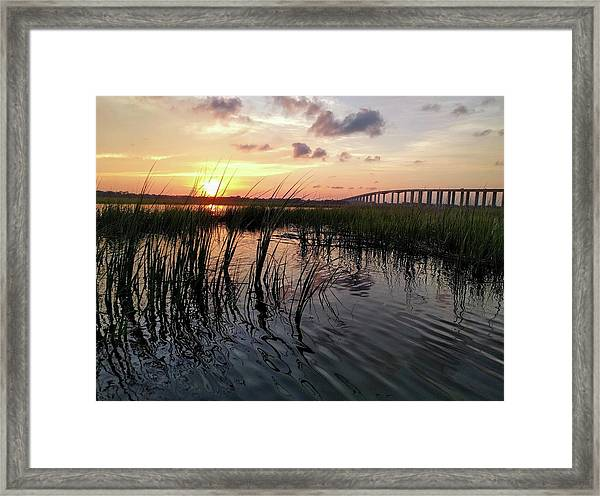 Winding Wando Framed Print
