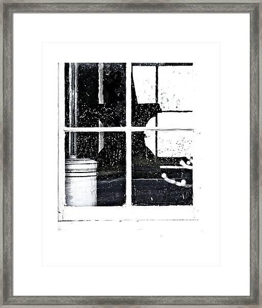 Window 3679 Framed Print