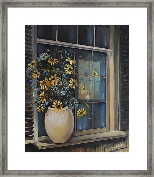 Window Dressing - Lmj Framed Print