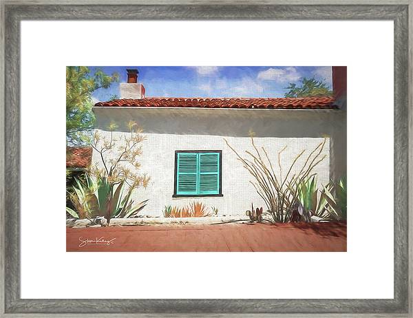 Window In Oracle Framed Print