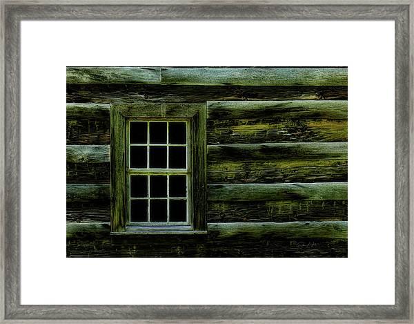 Window In Time Framed Print by Elijah Knight