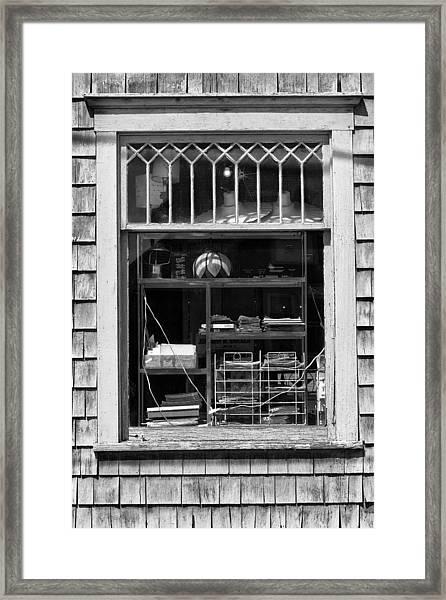 Window Study #12 Framed Print