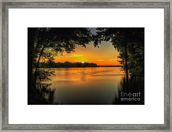 Window To The River Framed Print