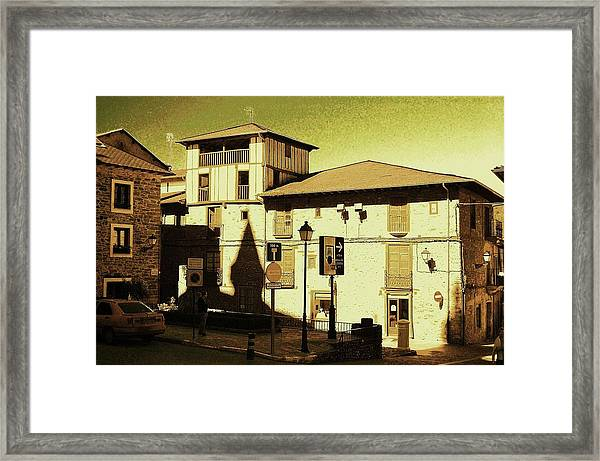Windows Of The Heart Framed Print by HweeYen Ong