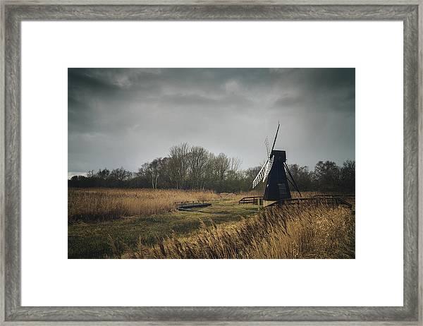 Windpump Framed Print