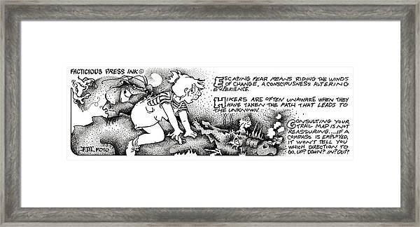 Winds Of Change Fpi Cartoon Framed Print