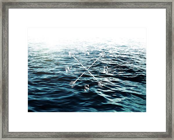 Winds Of The Sea Framed Print
