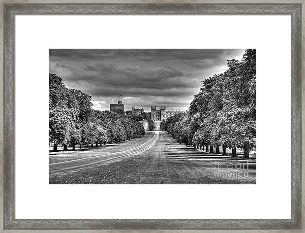 Windsor Castle  Infrared Framed Print