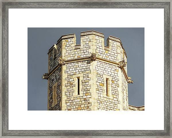 Windsor Castle Detail Framed Print