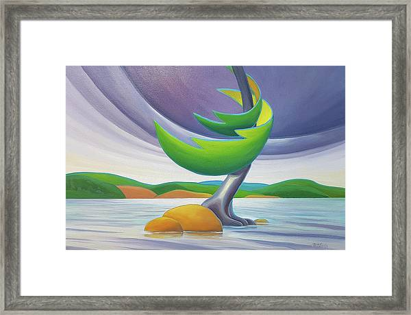 Windswept II Framed Print