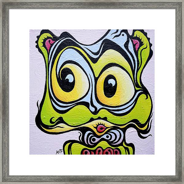 Windy Cindy Framed Print