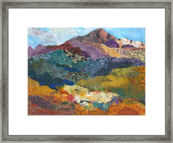 Framed Print featuring the painting Wine Country Weekend by Shelli Walters