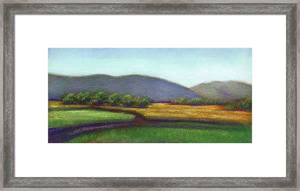 Wine County In Napa Framed Print