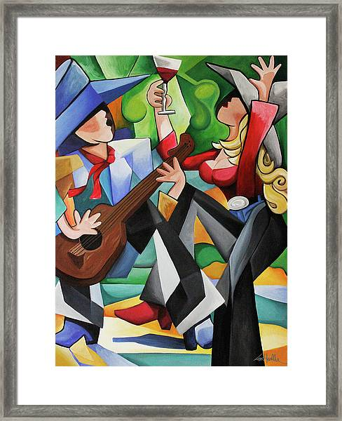 Wine Party Framed Print