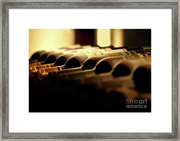 Wines Framed Print