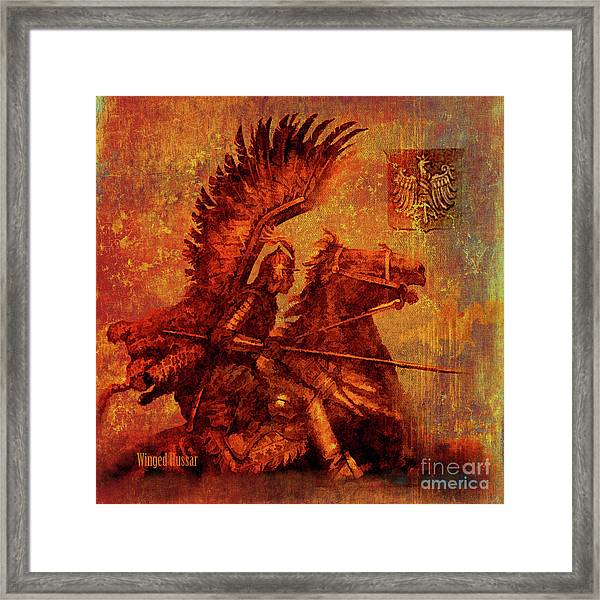 Winged Hussar 2016 Framed Print