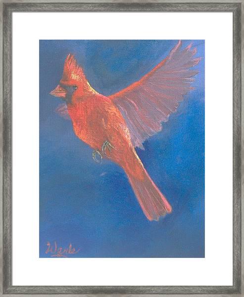 Wings Of A Prayer Framed Print by Bill Werle