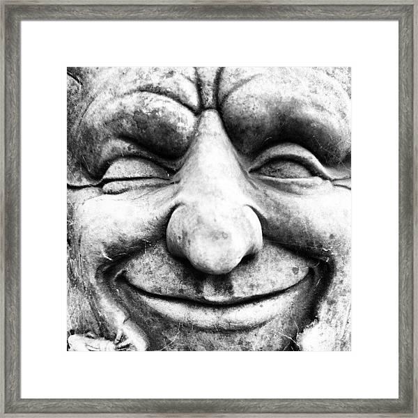 Wink Framed Print by Gary Stringer