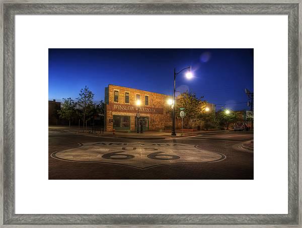 Winslow Corner Framed Print