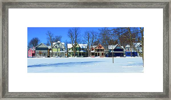 Winter At Ti Park Framed Print