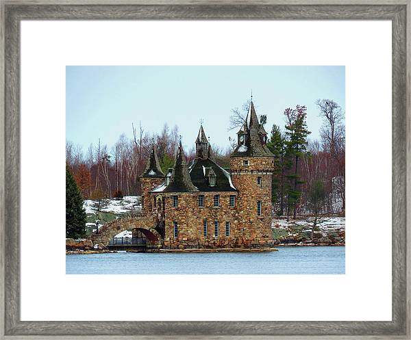 Winter Calm Framed Print