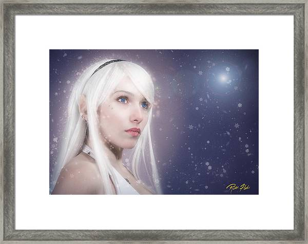 Winter Fae Framed Print