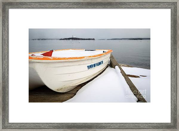 Winter, Falmouth, Maine  -18674 Framed Print