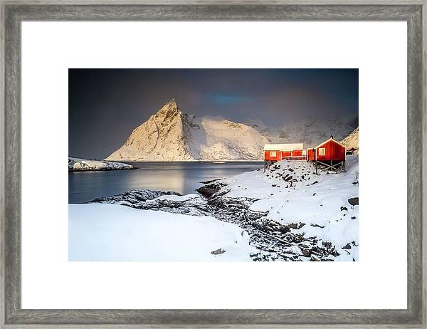 Winter In Lofoten Framed Print
