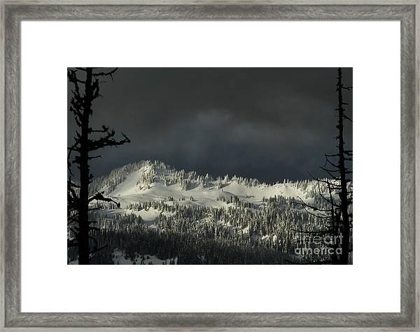 Winter In North Cascades Framed Print
