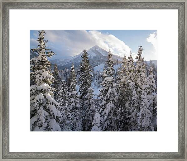 Winter In The Wasatch Framed Print