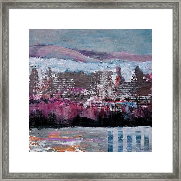 Winter Kaddish Framed Print